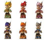 Emperor Guardian Armor Set