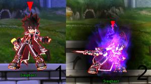 Sieg ST Rage Mocking Blade