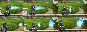 Spell Knight Magic Combo