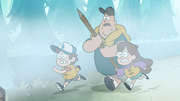 S1e2 mabel soos and dipper running.png