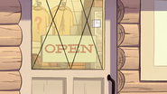 S1e18 open sign