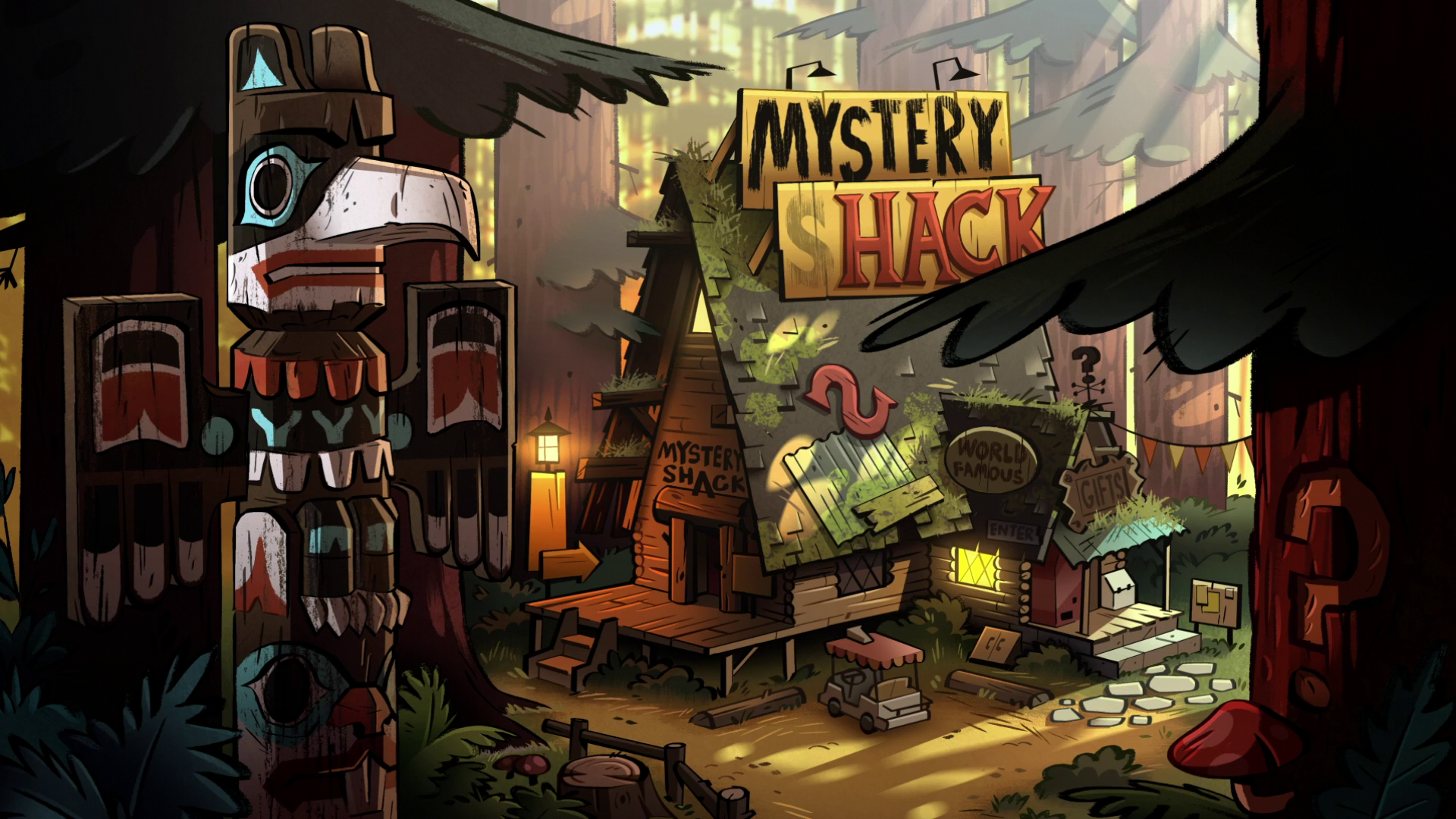 Gravity Falls: The Mystery Shack in Real Life - Gold …