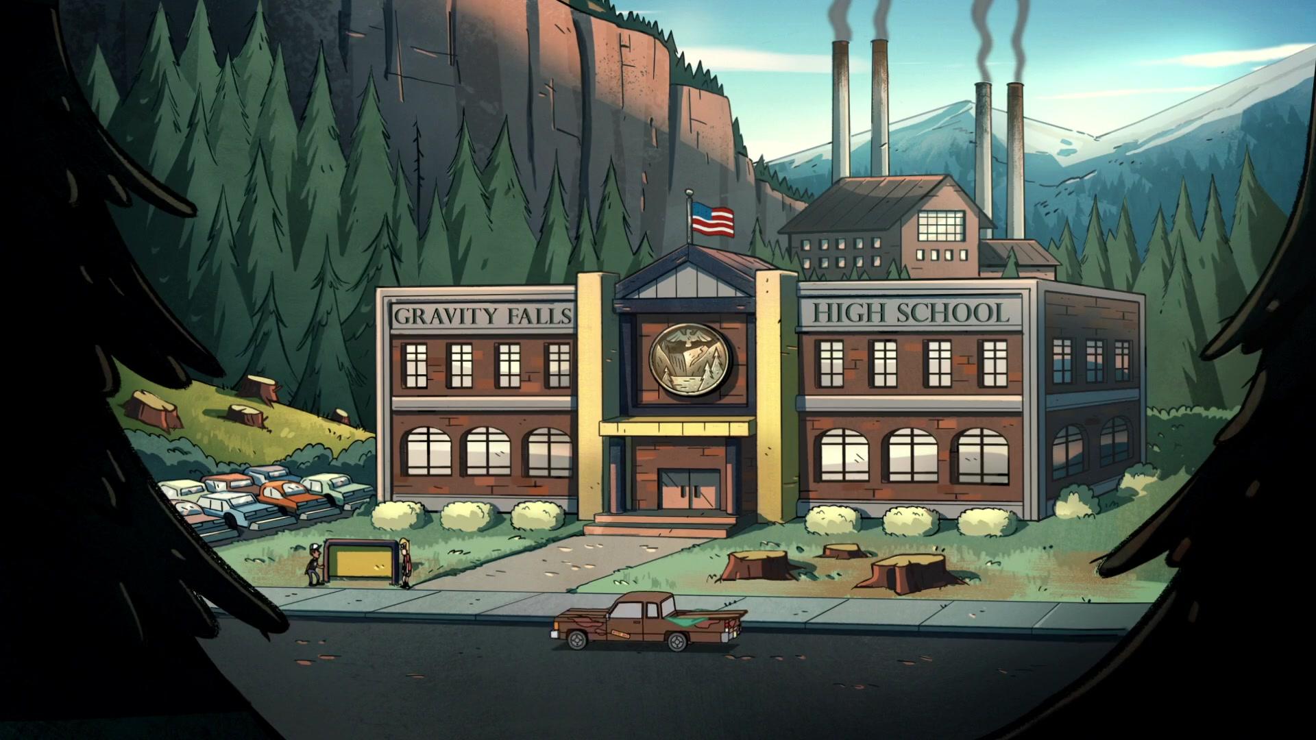 Gravity Falls High School Gravity Falls Wiki Fandom