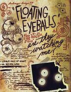 Six strange tales journal 3 eyeballs