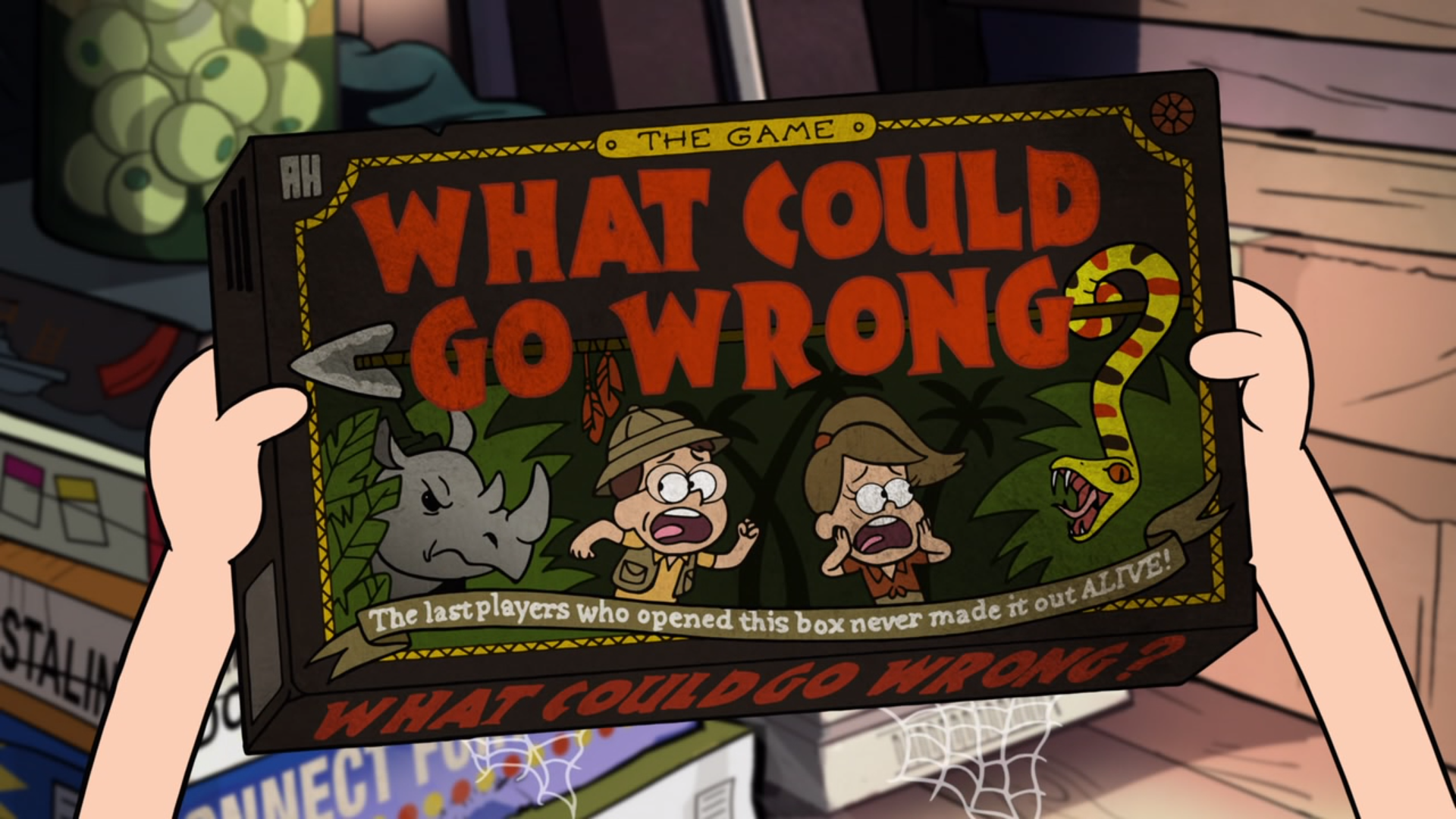 What Could Go Wrong The Game Gravity Falls Wiki