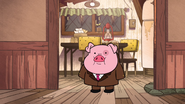 S1e12 waddles in costume