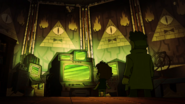 S2e15 Bill Cipher shrine
