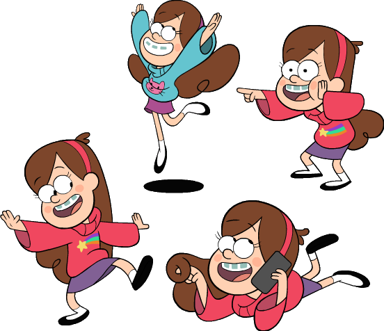 Image Odditycreator Mabel Designs Png Gravity Falls