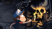 Opening dipper finds skeleton