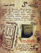 Six strange tales journal 3 doors
