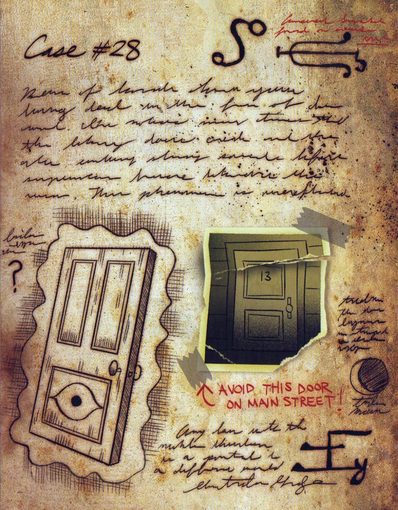 Граде фолс фото дневника 1 часть