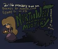 S2E10 Northwest Mansion Mystery Poster