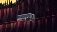 S1e20 bus on the road