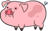 Waddles appearance
