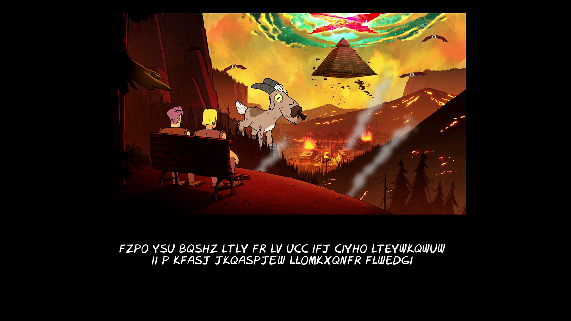 "「gravity falls end of credits ""Weirdmageddon 2: Escape From Reality""」の画像検索結果"