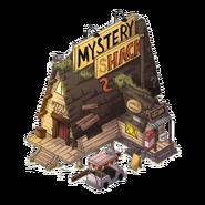 Mystery Shack Attack mystery shack