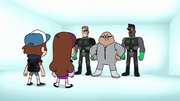 S2e8 group standing