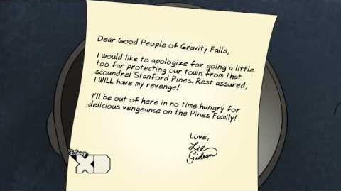 Creepy Letters from Lil Gideon Revenge
