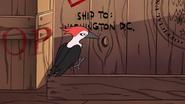 S1e8 woodpecker on train