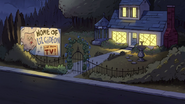 S1e11 gleeful residence at night