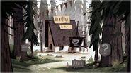 Ian Worrel Mystery shack development art