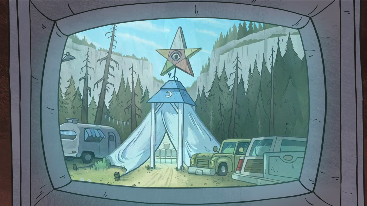 Tent Of Telepathy Gravity Falls Wiki Fandom Powered By