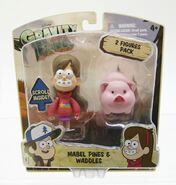 Gravity Falls Mabel and Waddles toys packaging