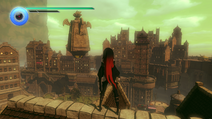 Raven DLC gameplay in Gravity Rush 2 The Ark of Time, Raven's Choice