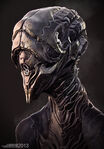 Alien bust by rhythem02-d6bnpvq