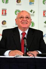 Gorbachev at Brisbane Earth Dialogues
