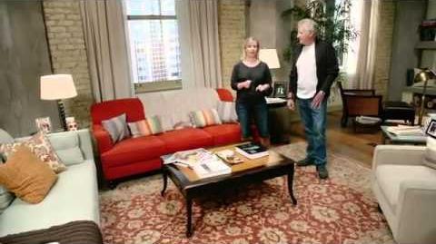 On Set with Grey's Anatomy - Callie and Arizona's apartment