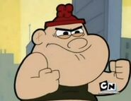 Billy And Mandy Sperg fists