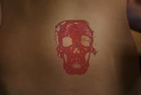 302-Skull on Adalind's stomach