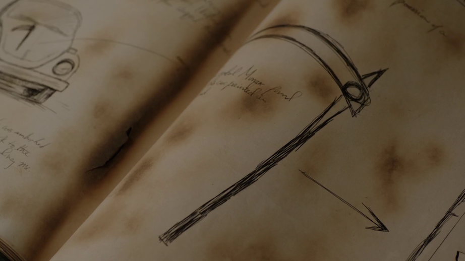 scythe diary entry showing the reapers scythe symbol grimm wiki