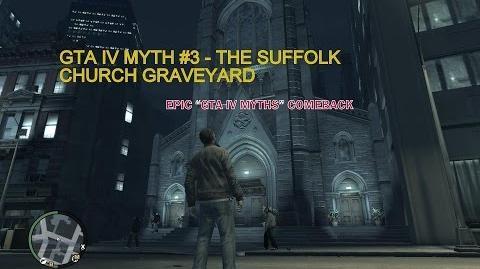 GTA IV MYTH -3 - The Suffolk church graveyard