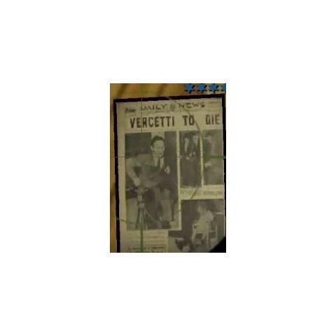 Vercetti To Die newspaper portrait at Saint Marks.