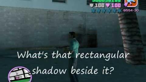 GTA Vice City Mysteries - Myth 1 - Face In The Wall