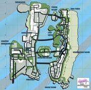 GTA Vice City-Map