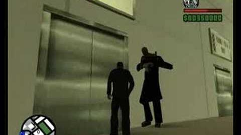 Gta San Andreas Nemesis in the zombie lab