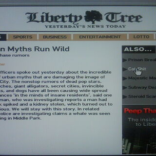 Article in Liberty City Tree.