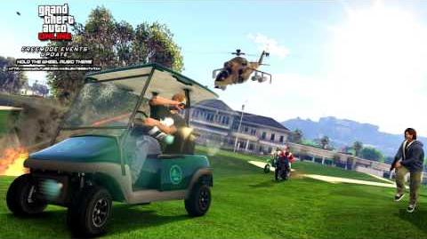 Grand Theft Auto GTA V 5 Online Freemode Events Update - Hold the Wheel Mode Music Theme