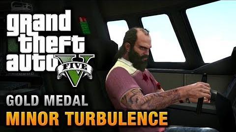 GTA 5 - Mission 47 - Minor Turbulence 100% Gold Medal Walkthrough