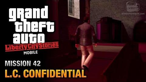 GTA Liberty City Stories Mobile - Mission 42 - L.C. Confidential