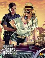 GTA V Police Lady