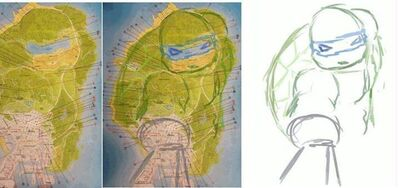 Map-GTAV-Ninja turtles