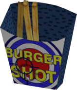 Burger Shot Fry Box