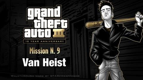 GTA 3 - iPad Walkthrough - Mission 9 - Van Heist