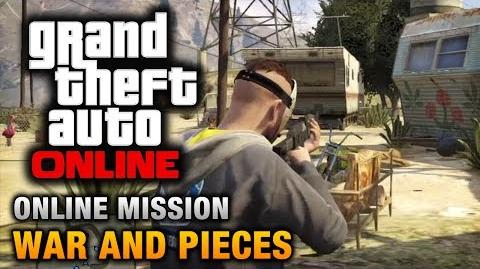 GTA Online - Mission - War and Pieces Hard Difficulty
