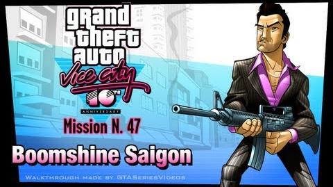 GTA Vice City - iPad Walkthrough - Mission 47 - Boomshine Saigon