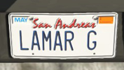 CustomLicense-GTAV-LAMAR G